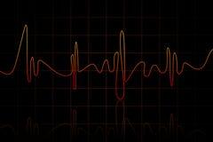 Het hart slaat Stock Afbeelding