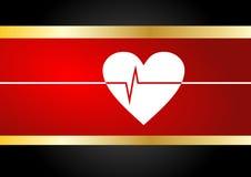 Het hart sloeg Royalty-vrije Stock Foto