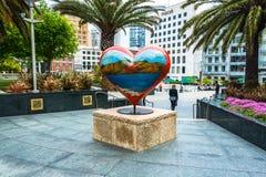 Het Hart in Union Square, San Francisco, Californië, de V.S. royalty-vrije stock foto