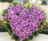 Het hart van bloemen Royalty-vrije Stock Foto's