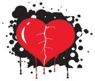 Het hart van Bronken royalty-vrije illustratie