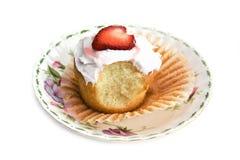 Het Hart van Cupcake Royalty-vrije Stock Afbeelding