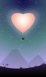 Het hart van de ballon Royalty-vrije Stock Foto