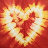 Het hart van de batik Stock Foto