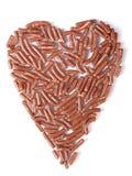 Het hart van de chocolade Royalty-vrije Stock Fotografie