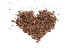 Het hart van de chocolade Royalty-vrije Stock Afbeelding