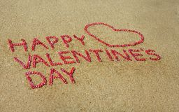 Het Hart van de Dag van de valentijnskaart stock fotografie