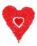 Het Hart van de Dag van valentijnskaarten Stock Fotografie