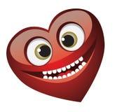 Het hart van de glimlach Royalty-vrije Stock Afbeeldingen