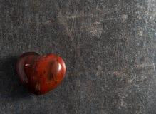 Het hart van de jaspissteen Royalty-vrije Stock Afbeeldingen