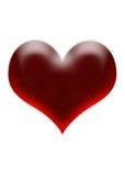 Het hart van de kers Stock Afbeeldingen
