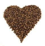 Het hart van de koffie Royalty-vrije Stock Afbeelding