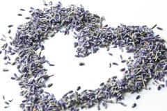 Het Hart van de lavendel Royalty-vrije Stock Foto's