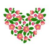 Het hart van de lente Royalty-vrije Stock Foto's