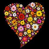 Het hart van de lente Stock Fotografie