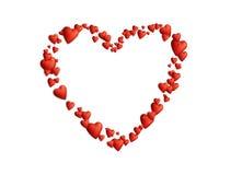 Het hart van de liefde Royalty-vrije Stock Afbeelding