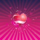 Het Hart van de liefde Stock Fotografie