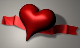 Het hart van de liefde royalty-vrije illustratie