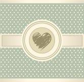 De achtergrond van het Hart van de liefde Royalty-vrije Stock Fotografie