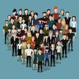 Het hart van de mensen Royalty-vrije Stock Fotografie