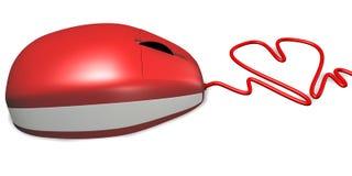 Het Hart van de muis Stock Foto