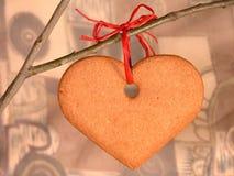 Het hart van de peperkoek Royalty-vrije Stock Foto