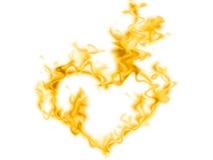Het hart van de rook Royalty-vrije Stock Foto's