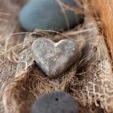 Het hart van de steen Stock Afbeeldingen