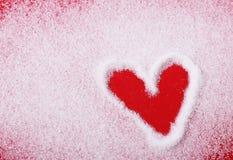 Het hart van de suiker Royalty-vrije Stock Afbeeldingen
