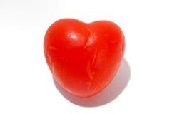 Het hart van de tomaat Stock Afbeeldingen