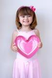 Het Hart van de valentijnskaart Royalty-vrije Stock Afbeeldingen