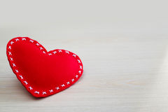 Het Hart van de valentijnskaartendag Stock Afbeelding