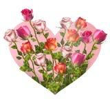 Het Hart van de valentijnskaartendag Eps 10 Stock Foto