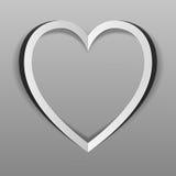 Het hart van document wordt verwijderd dat Stock Afbeeldingen
