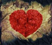 Het hart van Grunge Royalty-vrije Stock Afbeeldingen