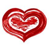 Het hart van Grunge Royalty-vrije Stock Fotografie