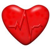 Het hart van Healty Stock Afbeelding