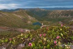 Het Hart van het bergmeer Royalty-vrije Stock Fotografie