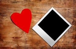 Het hart van het document Stock Afbeeldingen