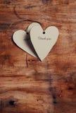 Het hart van het document Royalty-vrije Stock Fotografie