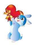 Het hart van het konijn Stock Afbeelding