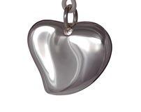 Het hart van het metaal royalty-vrije stock foto