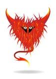 Het hart van het monster royalty-vrije illustratie