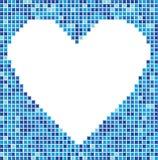 Het hart van het mozaïek royalty-vrije illustratie