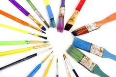 Het Hart van het penseel Royalty-vrije Stock Foto