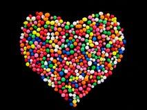 Het Hart van het suikergoed Stock Afbeelding