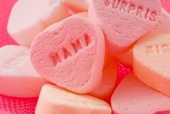 Het hart van het suikergoed stock afbeeldingen
