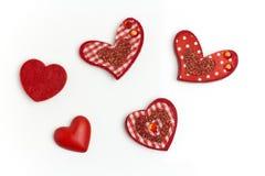Het hart van hobbys. stock afbeelding