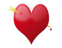 Het hart van Hurted Royalty-vrije Stock Afbeeldingen