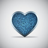 Het hart van jeans Royalty-vrije Stock Foto's